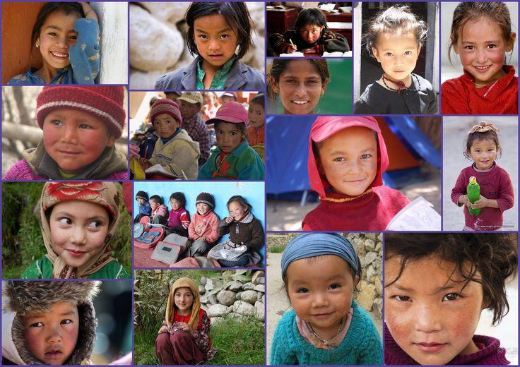 Niños Ladakhis