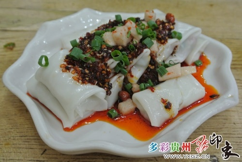 Guiyang snacks coiling