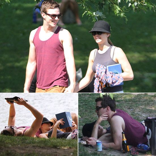 Jennifer Lawrence and Nicholas Hoult Have a Sexy Park Date