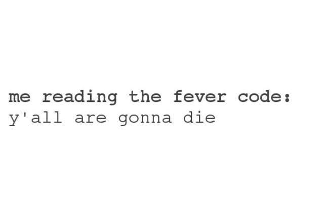 I can't wait for the Fever Code. Does someone know when it will be realased?