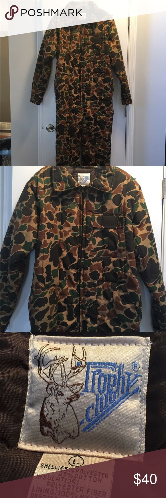 Trophy Club insulated coveralls In like new condition!  Insulated coveralls for work or fun in the cold. trophy club Other