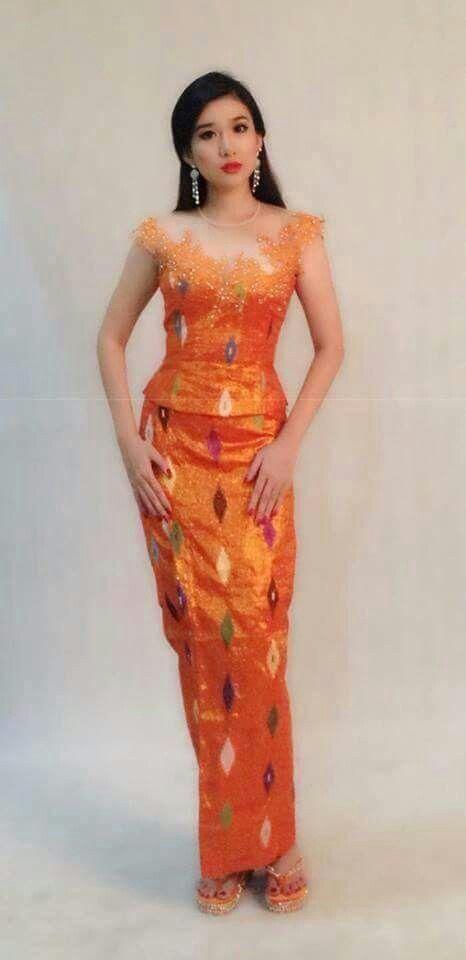 Kachin dress myanmar dress tine yin ther design for Myanmar home design modern