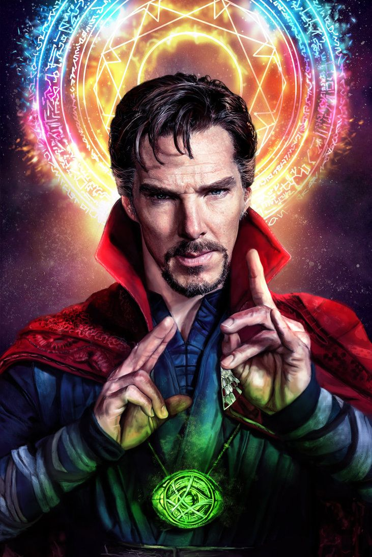 Doctor Strange by OddVisuals