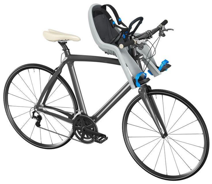 Thule RideAlong Mini Child Bike Seat - Front Mount - Light Gray Thule Bike Accessories TH100104