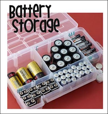love this idea, i always lose batteries