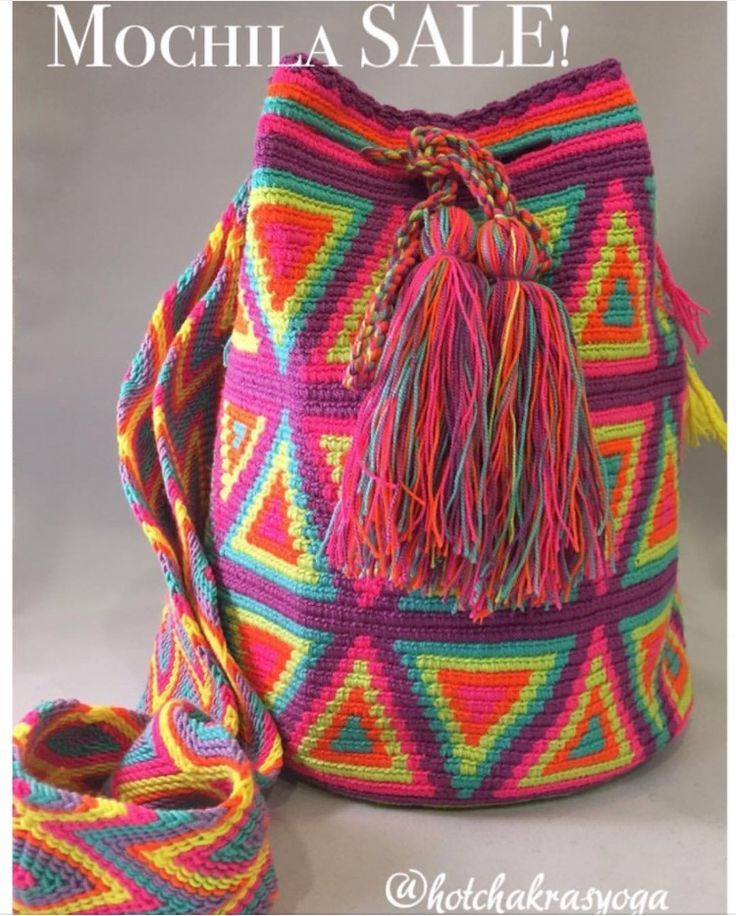 SALE! Ok, friends! After many requests to put these on sale, we are offering $20 off all large Mochilas! Use code: MOCHILA when checking out to receive the discount! Limited time only and remember! These bags are one-of-a-kind, so if there's one you've been eyeing, GRAB it!!! Happy shopping! ✨✨✨✨ #IGSALE #mochila #mochilabags #wayuu #handmade #boho #bohemianstyle #bohochic #colombian #fairtrade #artisan #worldlygoods #yogastyle #boho #hippie #hippiechic #worldlygoods #fairtrade #ayudaguajira
