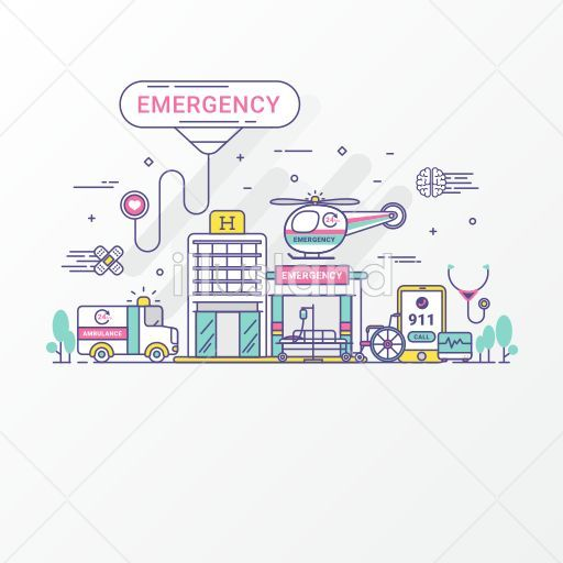 Emergency hospital concept. - Medical - #14 | Free vector image sets