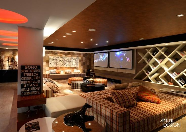 HOME THEATER - ANUAL DESIGN SUL                                                                                                                                                                                 Mais
