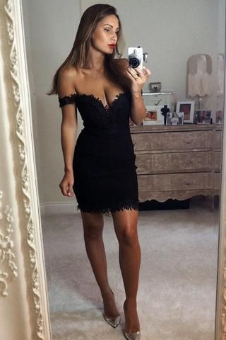 Chique Sleeveless Lace Detail Bardot Bodycon Dress as seen on Sam Faiers