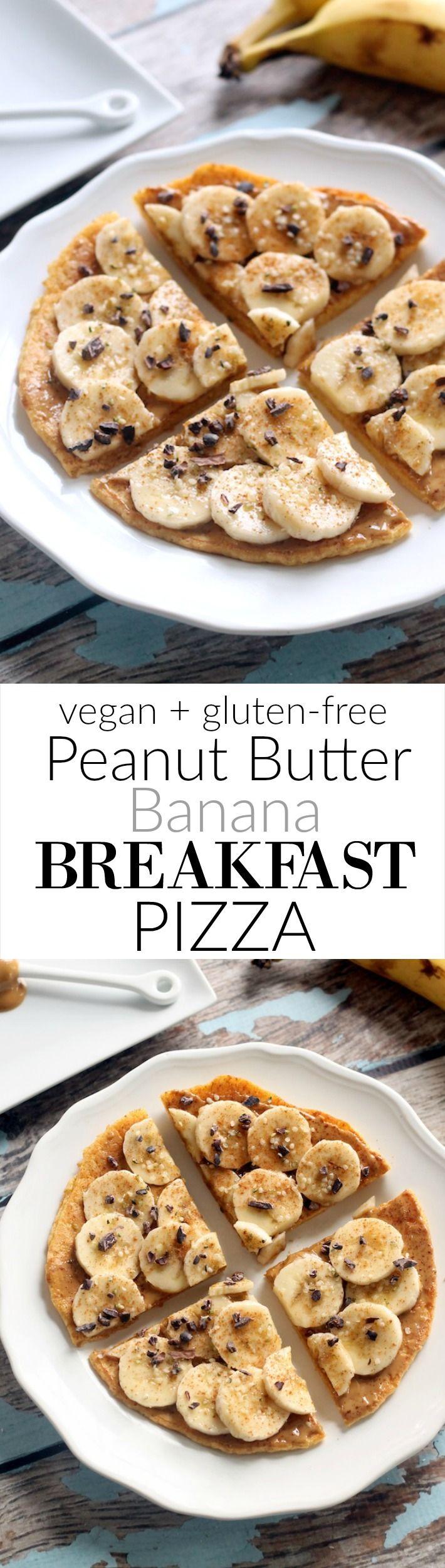 Recipe // Banana + Almond Milk + Maple Syrup + Peanut Butter + Chickpea Flour + Cinnamon + Vanilla