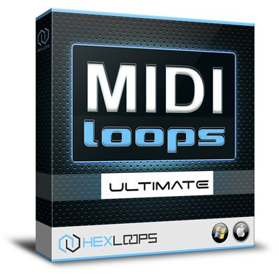 Hex Loops proudly presents MIDI Loops - Ultimate Producer Pack, an awesome collection that features over 8500 MIDI files ready for various music genres.