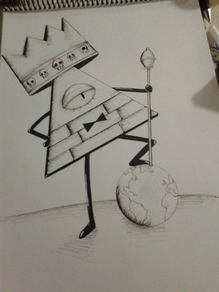 Bill cipher #gravity falls