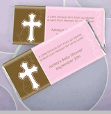 Baby Baptism Candy Wrapper Favors