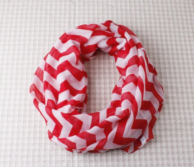 http://www.bonanza.com/listings/FREE-SHIPPING-Red-and-White-Chevron-Infinity-Scarf-Eternity-ZigZag-Stripe-Loop/217739449