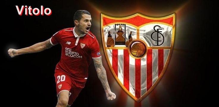 Vitolo , jugador del Sevilla f c