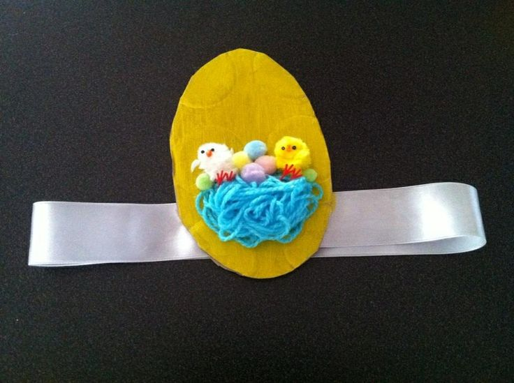 Rambo style Easter hat for Raice to wear whilst watching his sisters parade last year :)