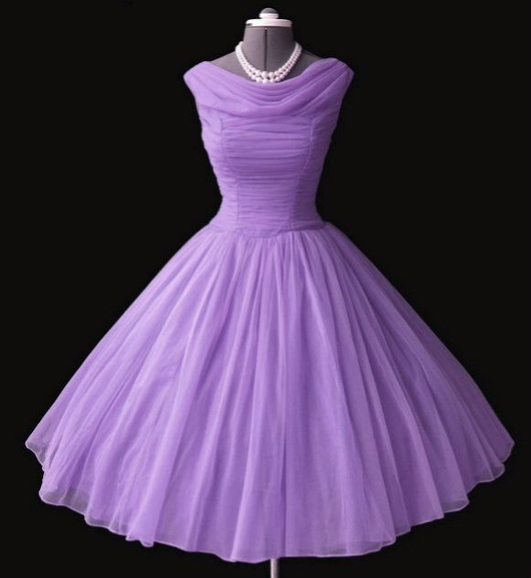1950's purple toile dresses | glamour vintage 50's 1950's purple retro dresses glam old hollywood ...