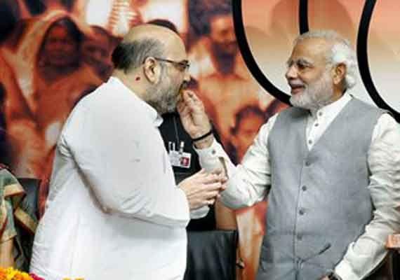 Narendra Modi and Amit Shah: Great minds think alike