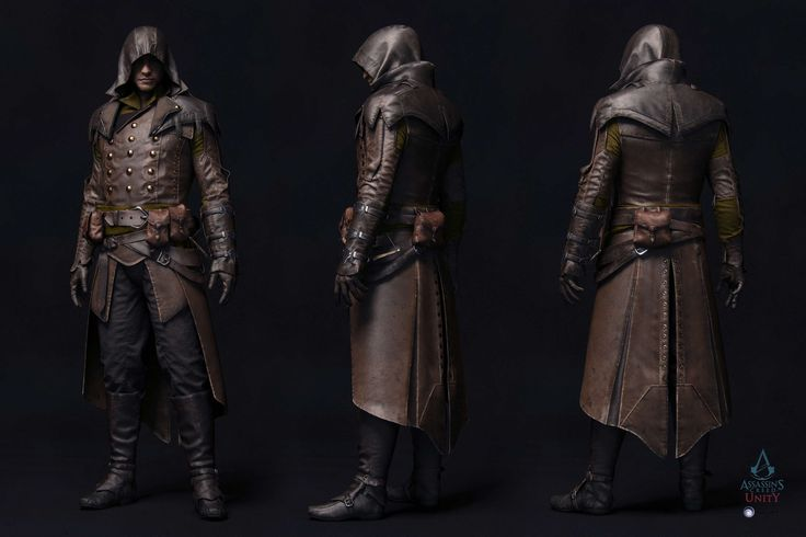 assassin 39 s creed unity characters 3d char pinterest. Black Bedroom Furniture Sets. Home Design Ideas