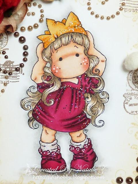 "My Creativity LIFE!: New ""Princess Party Tilda"" SDC Challenge"