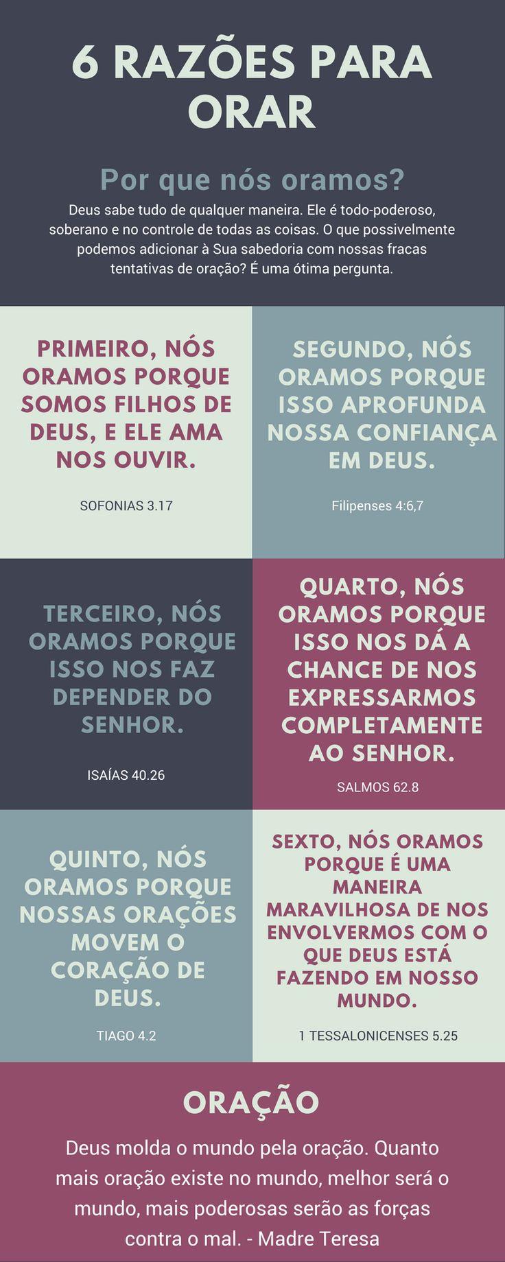 razões para orar; bíblia; oração; Deus