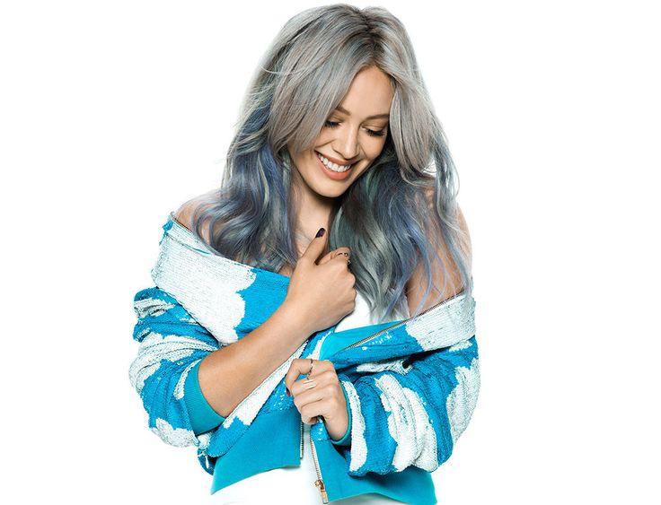 Hilary Duff serves up a refreshing dose of nostalgia | grey hair | NYLON