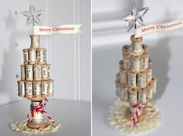 10 DIY Christmas Trees - Ideas and Tutorials