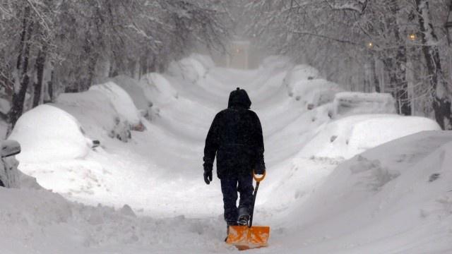 USA Nemo Schneesturm Blizzard
