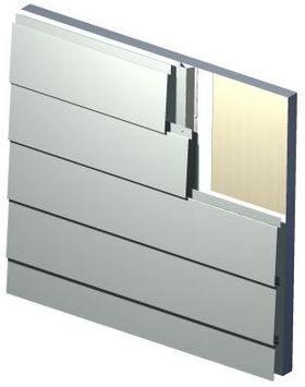 Shiplap Facade Panel - MetalTech-USA