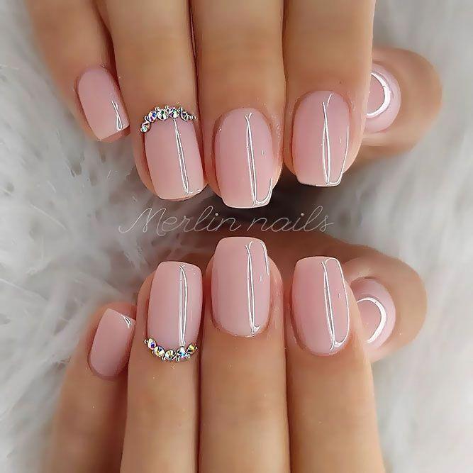 Classy Wedding Nails Weddingnaildesigns Short Acrylic Nails Designs Best Acrylic Nails Natural Acrylic Nails