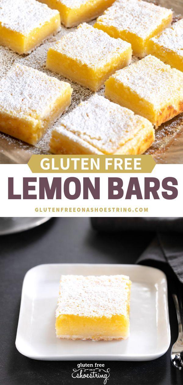 Gluten Free Lemon Bars Gluten Free Lemon Bars Gluten Free Lemon
