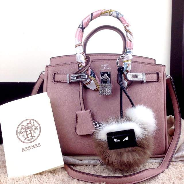 Display Tas Hermes Birkin Diamond Bahan Clemence 2169