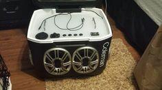River trip cooler radio