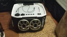 River trip cooler radio