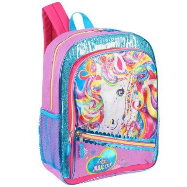 Amazon.com: Lisa Frank 16 inch Magical Dreams Backpack - Purple and Pink: Toys & Games