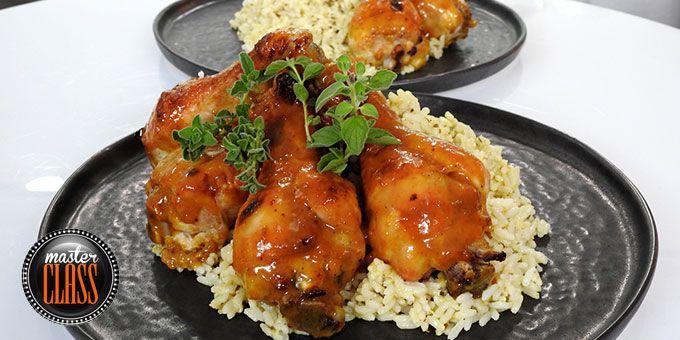 Κοπανάκια κοτόπουλου με μουστάρδα και ουίσκι