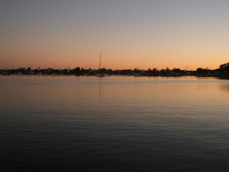 Sunset Sunshine Coast Qld Au.