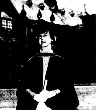 Olga Kooptzoff (later Archer) 1954