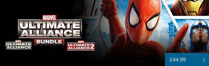Marvel Ultimate Alliance Bundle Out Now