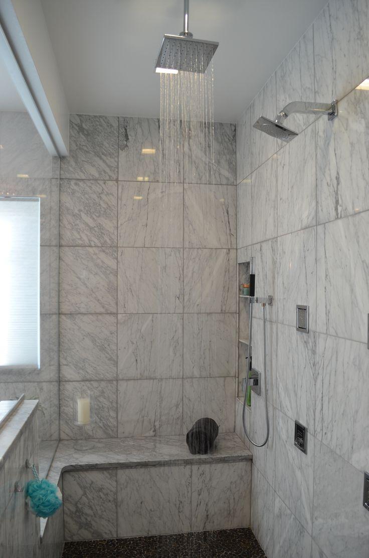 Rain Bath Shower Head From Kohler Modern Master Bathroom