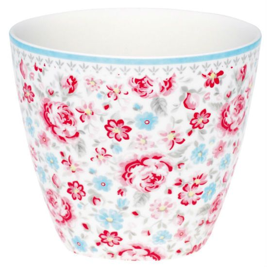 Greengate Latte Cup Malou Flower http://www.perchhomewares.co.nz/shop/Kitchen/Cups+%26+Mugs/Greengate+Latte+Cup+Malou+Flower.html