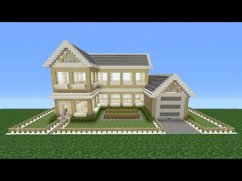Minecraft Tutorial: How to build the white house (part 1) - YouTube