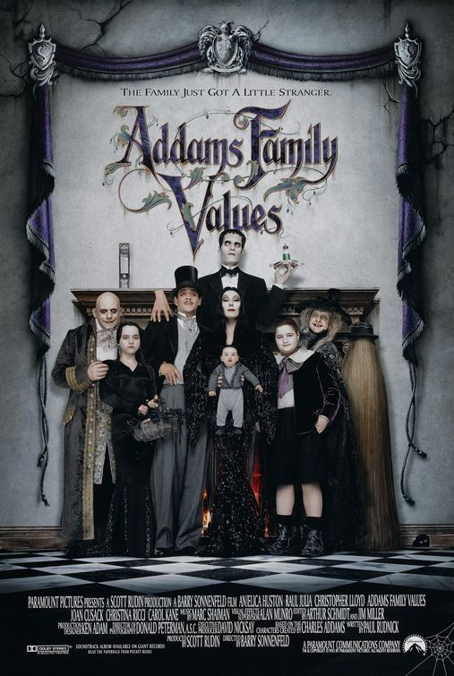 Addams Family Values Movie 1993.