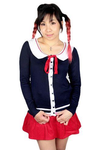 Sailor cardigan!