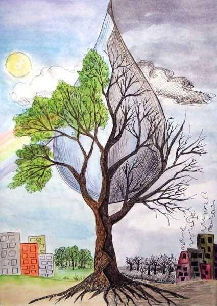 рисунки про экологию