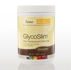 GlycoSlim Meal Replacement (Chocolate) - Our tasty, low-glycemic GlycoSlim meal replacement drink gives you the nutrients you need without the calories you don't.