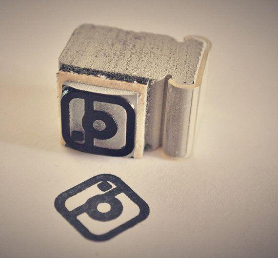 Instagram rubber stamp.