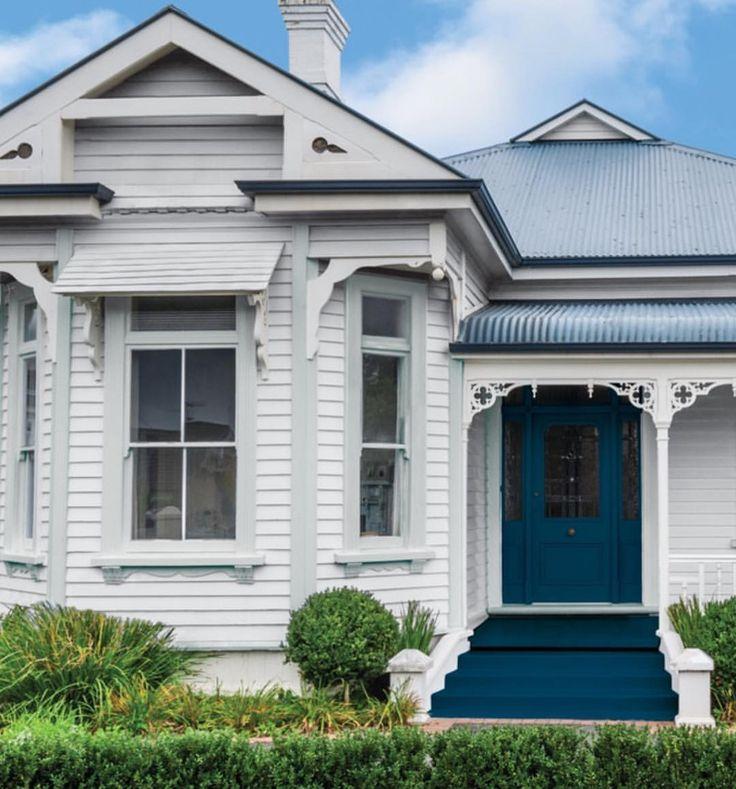 100 best images about exterior colour schemes on pinterest for Queenslander exterior colour schemes