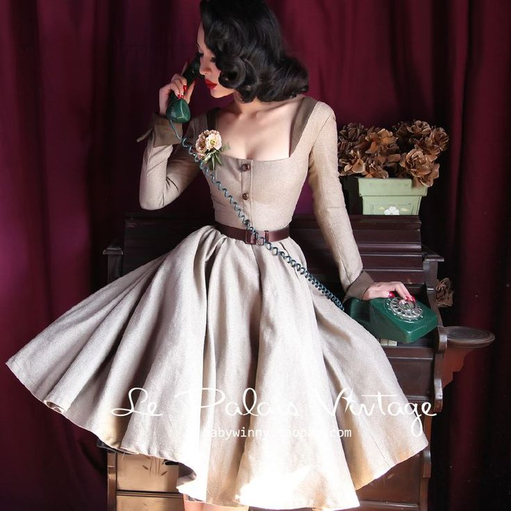Pin-up inspired dress