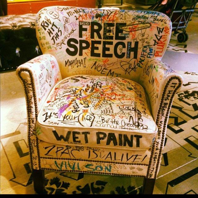 Free Speech Chair